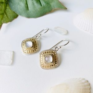 ✨Anna Beck Mother of Pearl Drop earrings